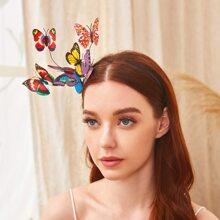 Schmetterlingsdekor-Haarbuegel