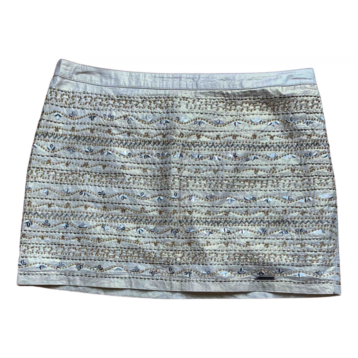 Abercrombie & Fitch N Gold Cotton skirt for Women 40 IT