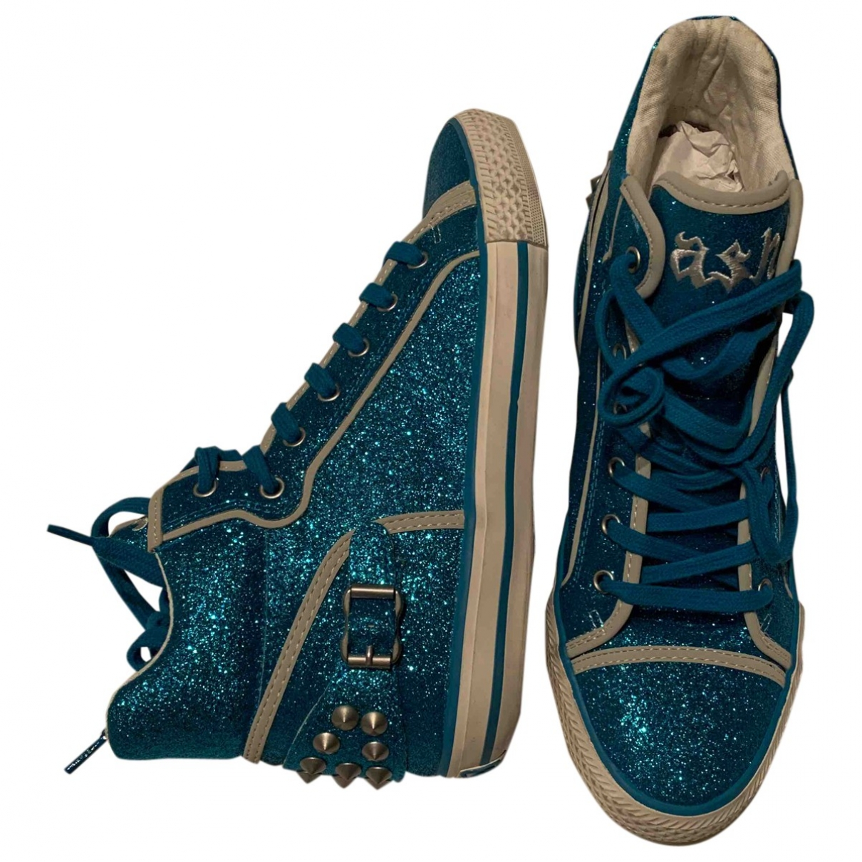Ash \N Blue Cloth Trainers for Women 39 EU