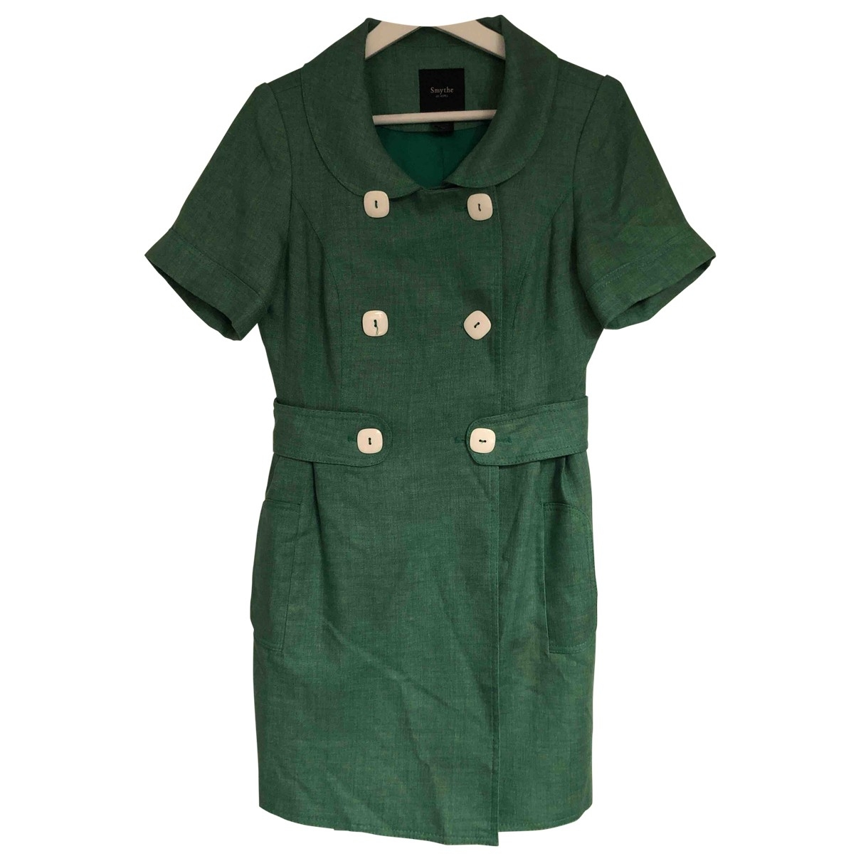 Smythe - Veste   pour femme en lin - vert