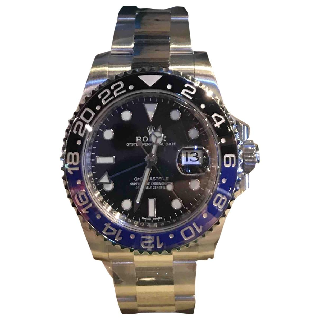 Rolex GMT-Master II Blue Steel watch for Men \N