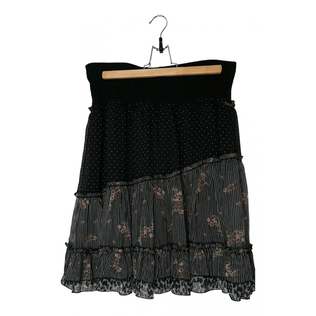 Cop Copine - Jupe   pour femme en coton - noir