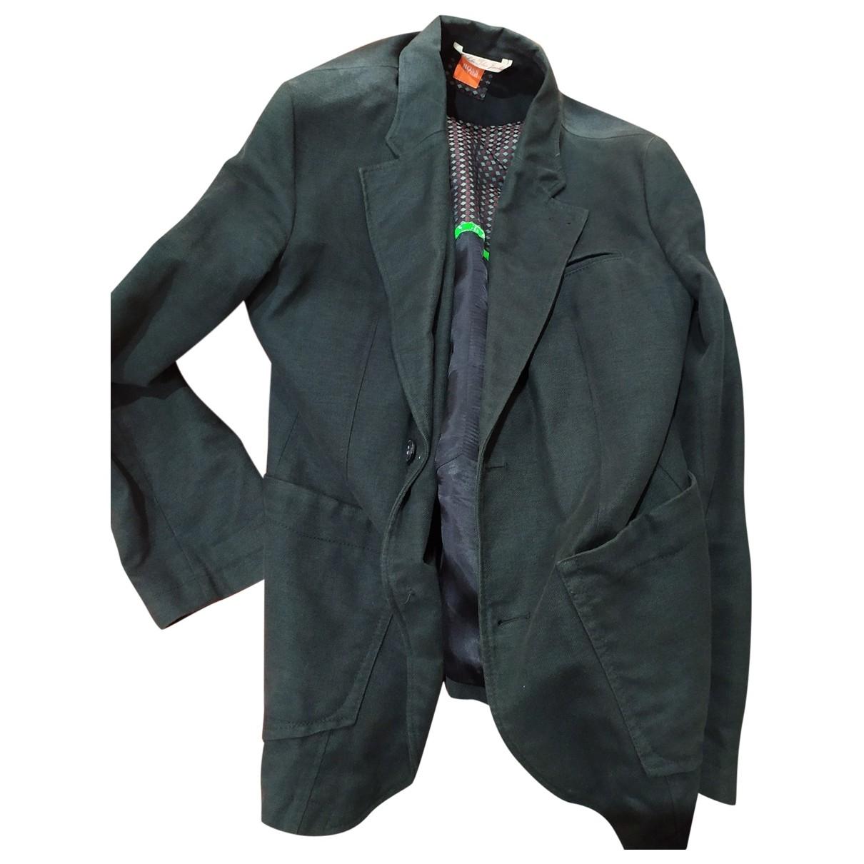 Boss \N Black Cotton jacket  for Men M International