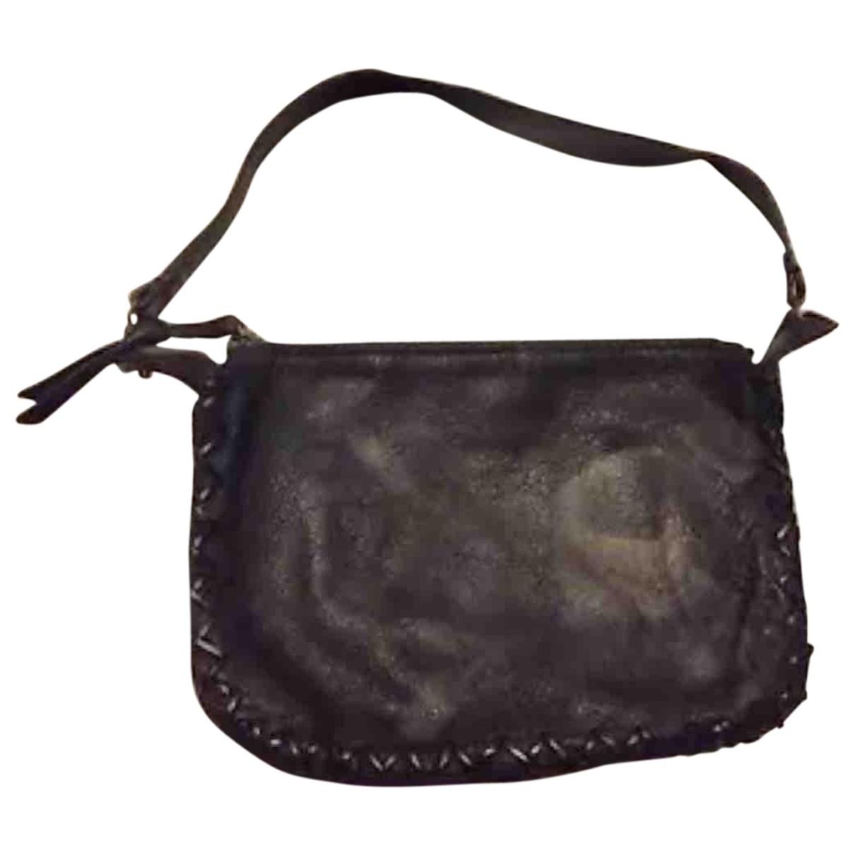 Maliparmi \N Handtasche in  Schwarz Leder