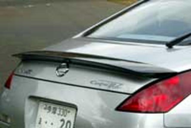 Central 20 CNT20331412A03 Rear Wing | Rear Spoiler 03 Type A - Carbon - Nissan 350Z 03-08