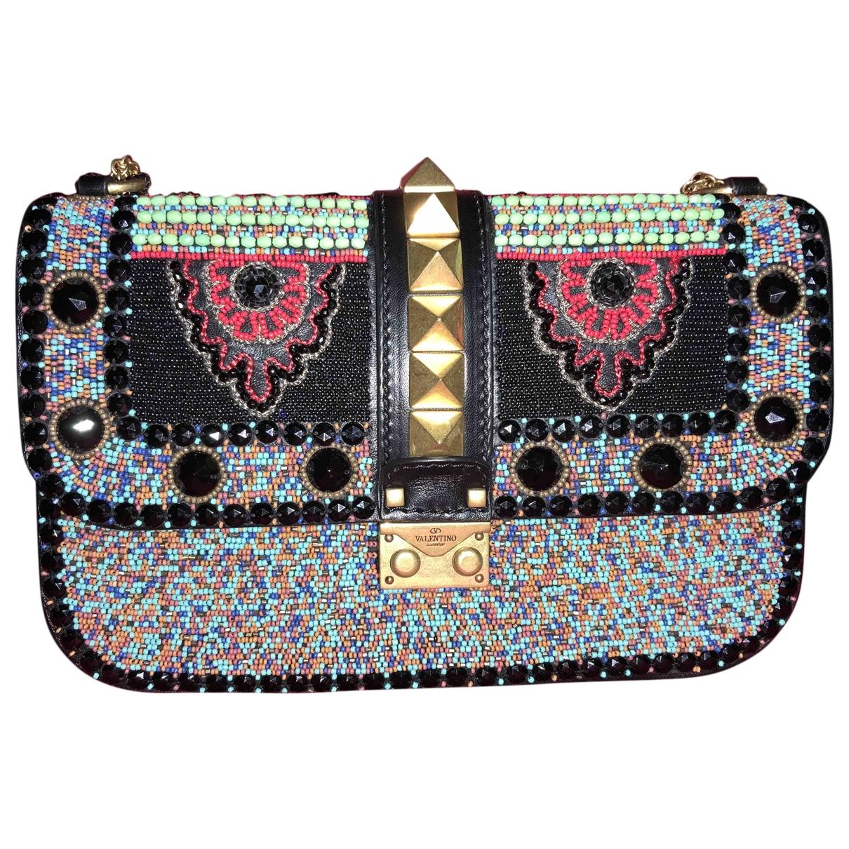 Valentino Garavani Glam Lock Multicolour Glitter handbag for Women \N