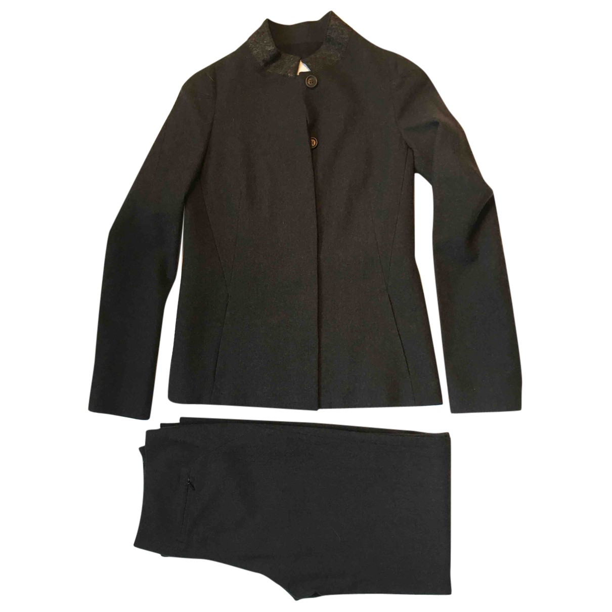 Chalayan N Grey Wool jacket for Women 40 IT