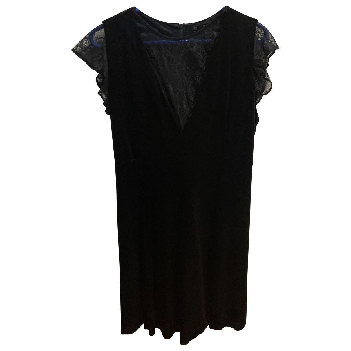 Zara \N Black Velvet dress for Women M International
