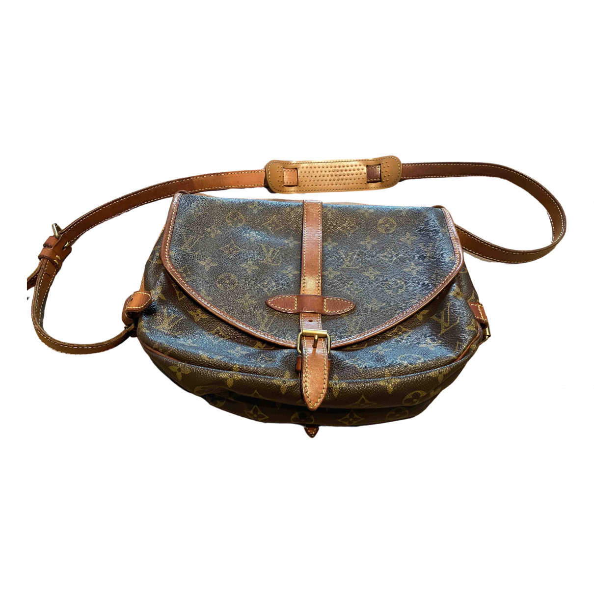 Louis Vuitton Saumur Cloth handbag for Women \N