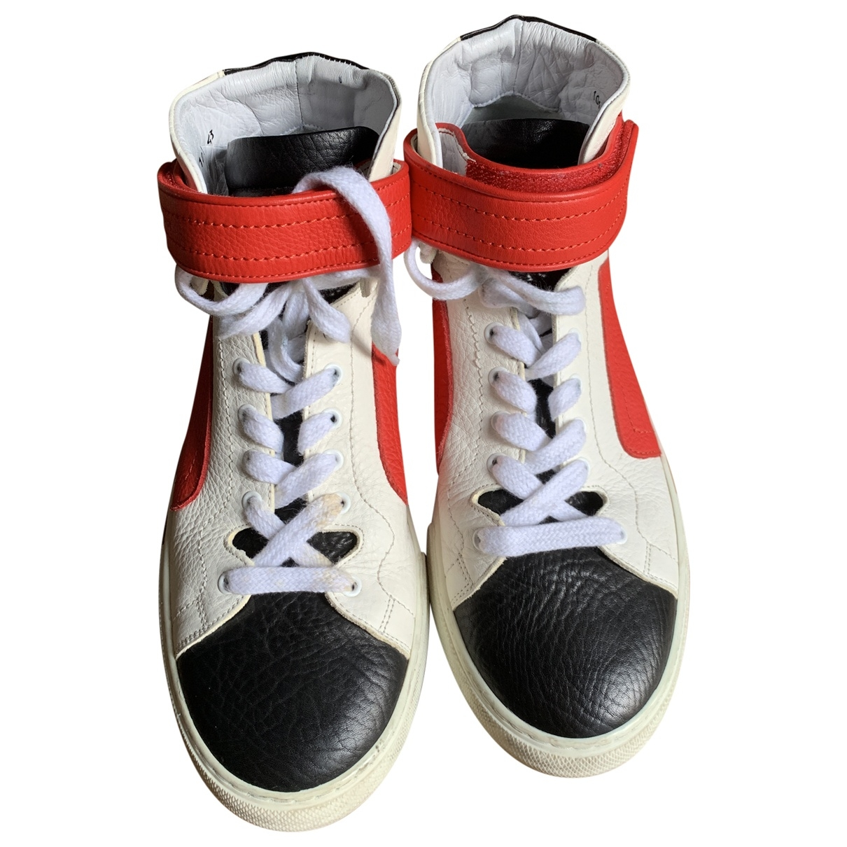 Pierre Hardy \N Multicolour Leather Trainers for Men 43 EU