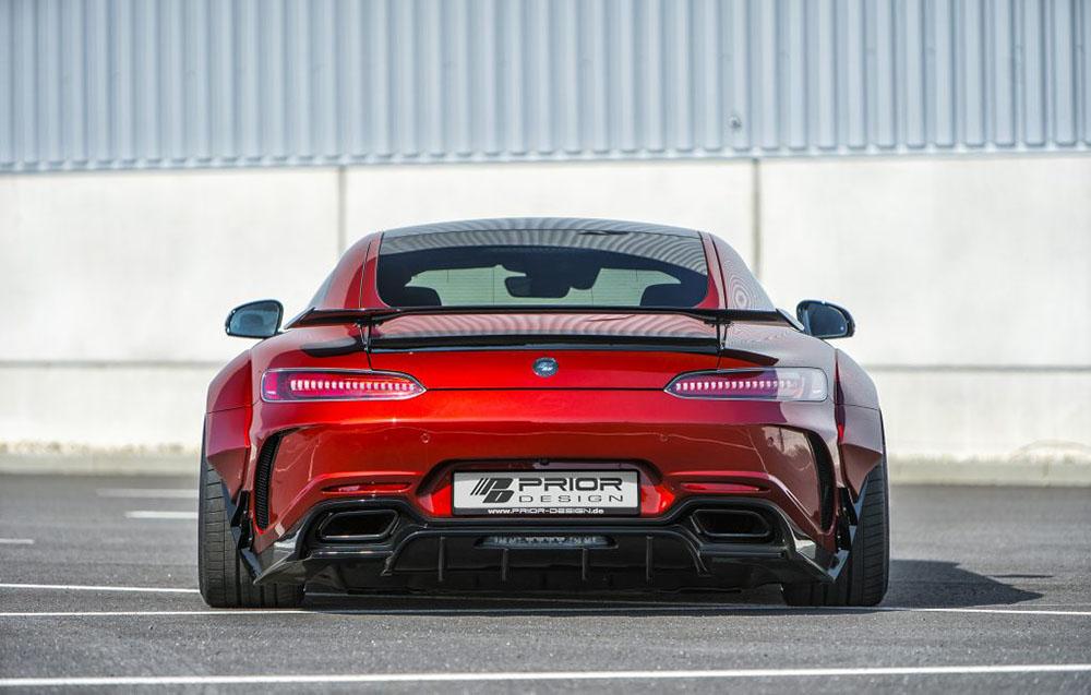Prior Design 4260609893984 PD700GTR Rear Diffuser Mercedes Benz GT | GT S 2015-2021