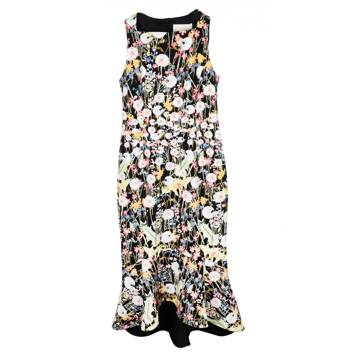 Peter Pilotto \N Kleid in  Schwarz Polyester