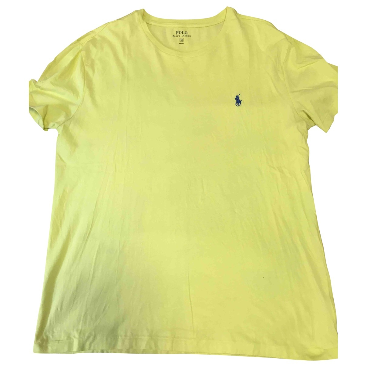 Polo Ralph Lauren \N Yellow Cotton T-shirts for Men M International