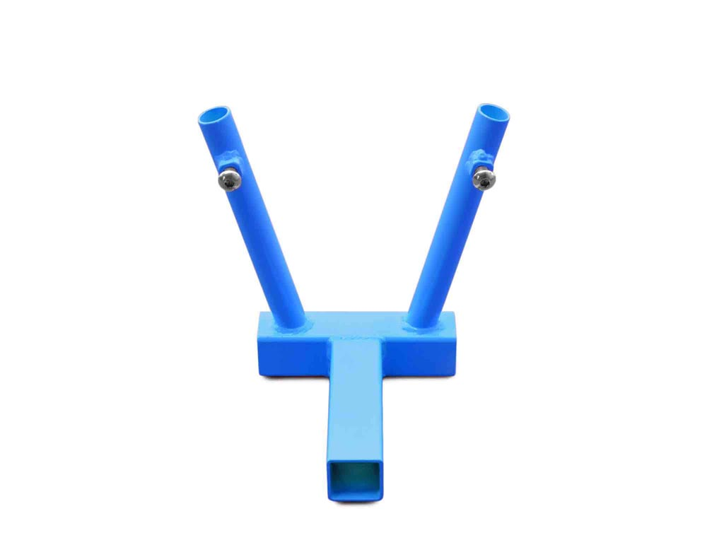 Steinjager J0045348 Hitch Mount Flag Holder 2 Flags Playboy Blue