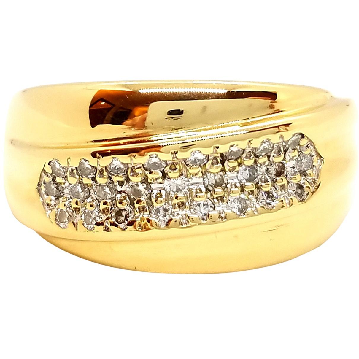 Autre Marque - Bague   pour femme en or jaune