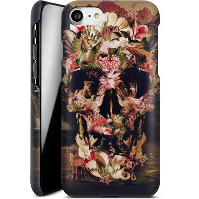 Apple iPhone 7 Smartphone Huelle - Jungle Skull von Ali Gulec