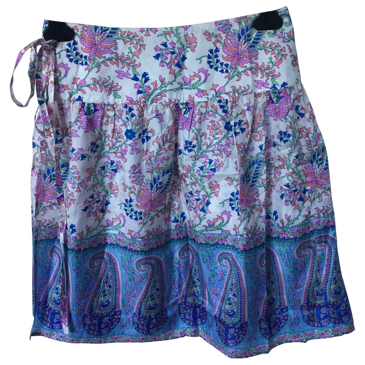 See By Chloe - Jupe   pour femme en soie - multicolore