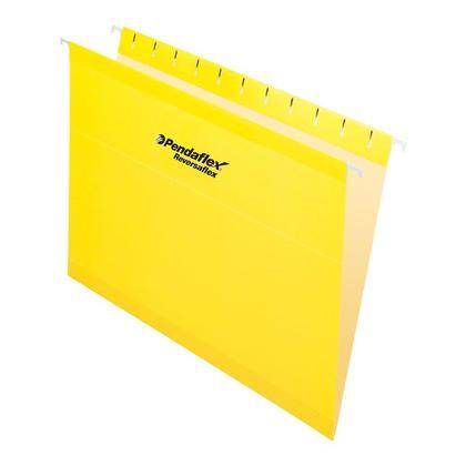 Pendaflex@ Reversaflex@ dossier suspendu renforc e premium, format lettre, 25/boite - jaune 486811