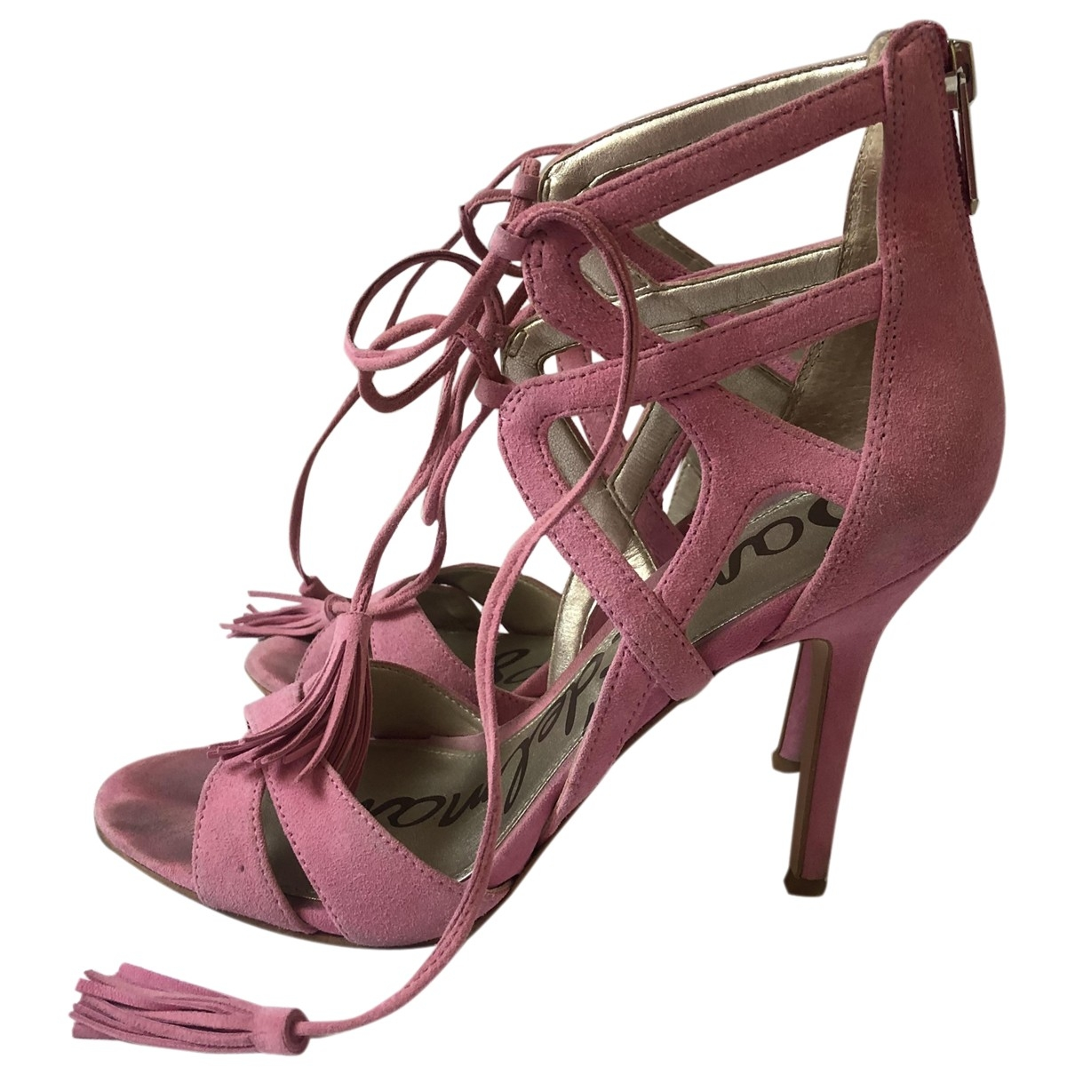Sam Edelman \N Pink Suede Sandals for Women 7.5 US