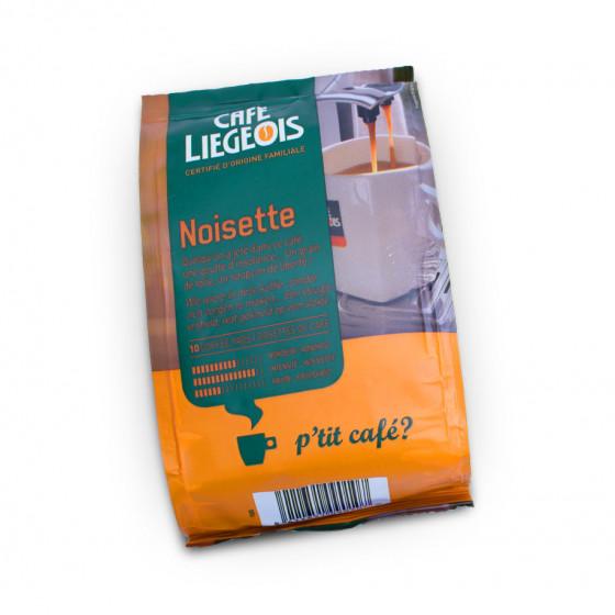 "Kaffeepads Cafe Liegeois ""Noisette"", 10 Stk."