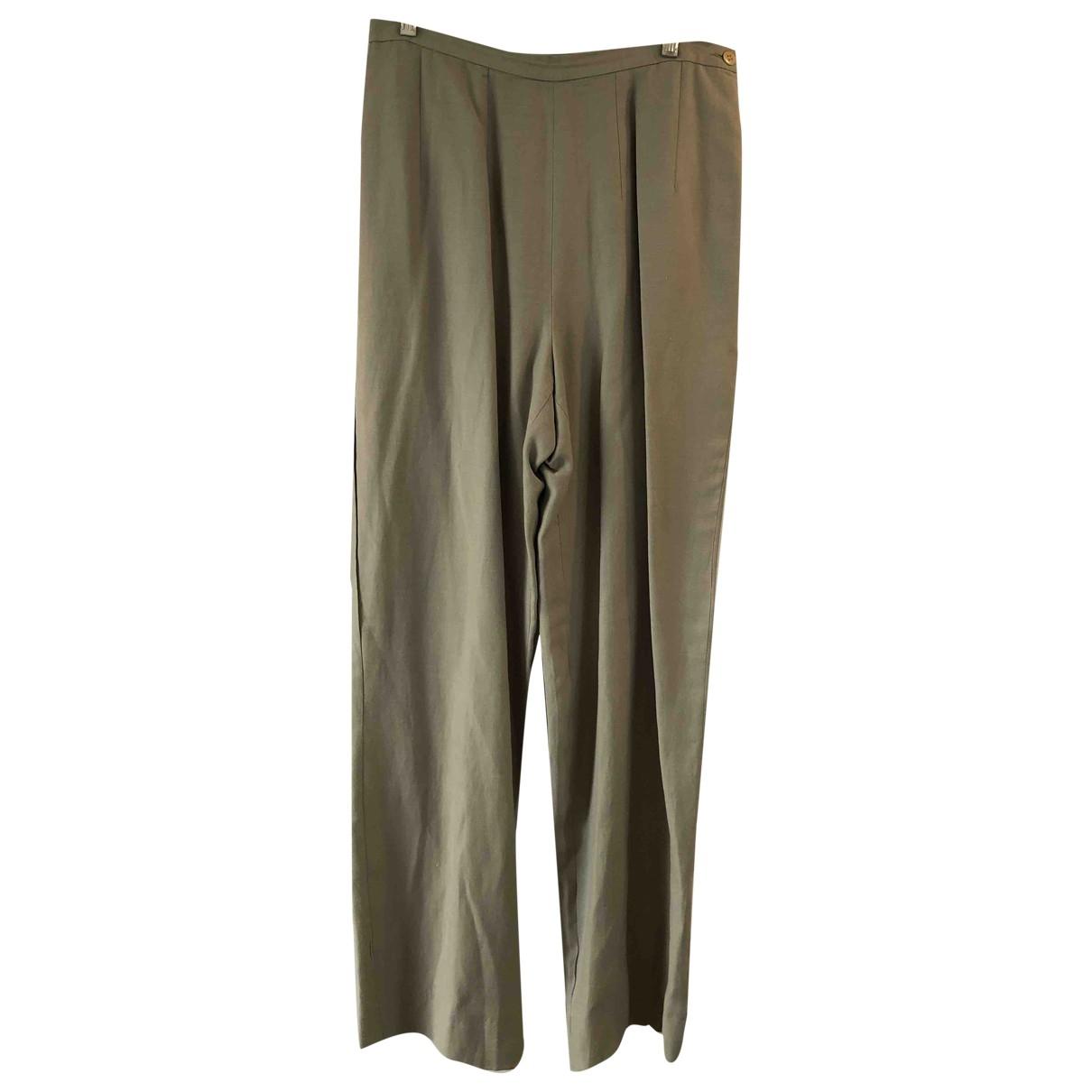 Pantalon de traje de Lino Giorgio Armani