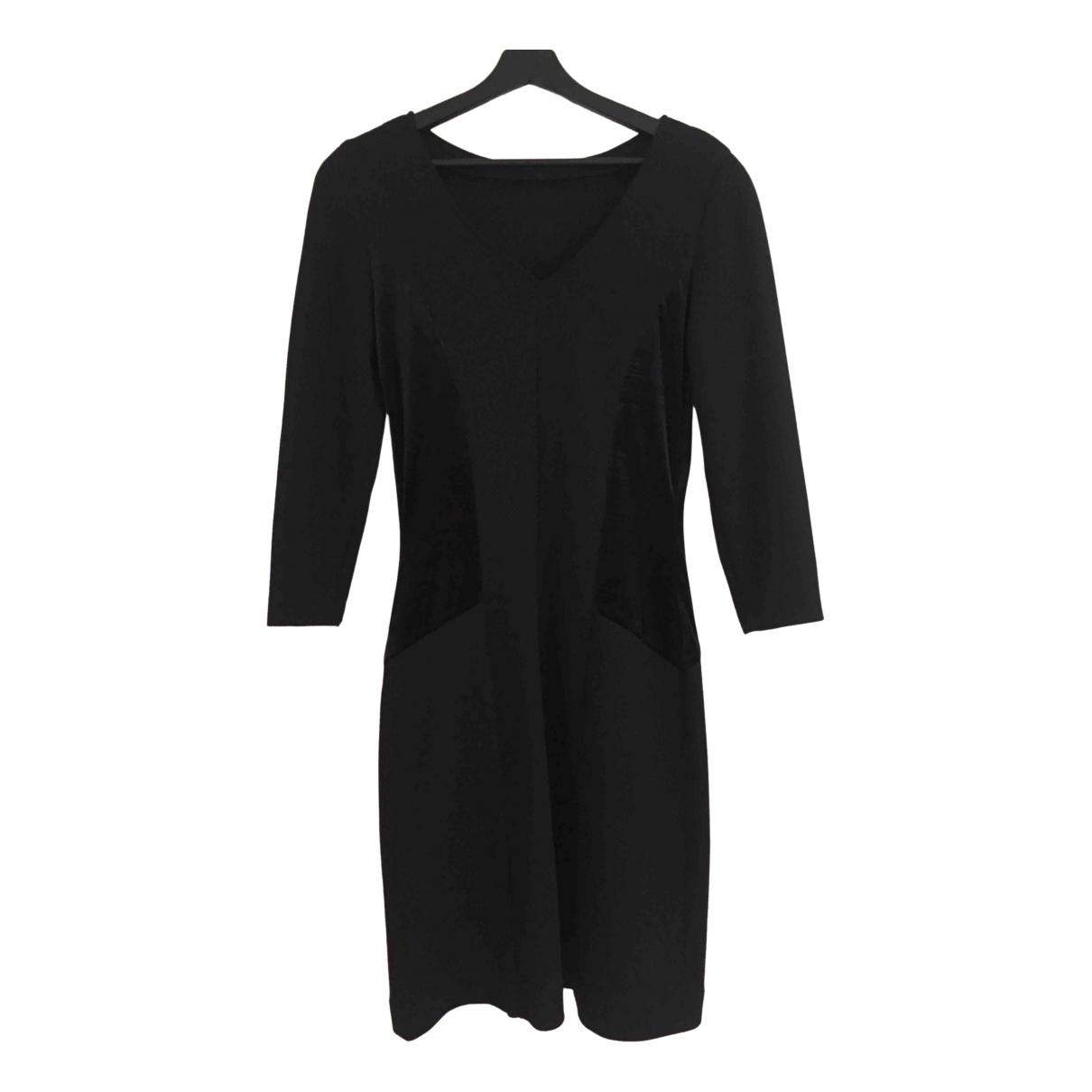 Chiara Boni \N Kleid in  Schwarz Wolle