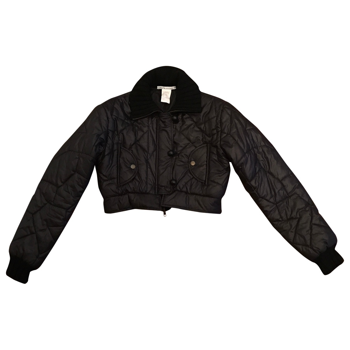 Non Signé / Unsigned \N Black jacket for Women 4 US