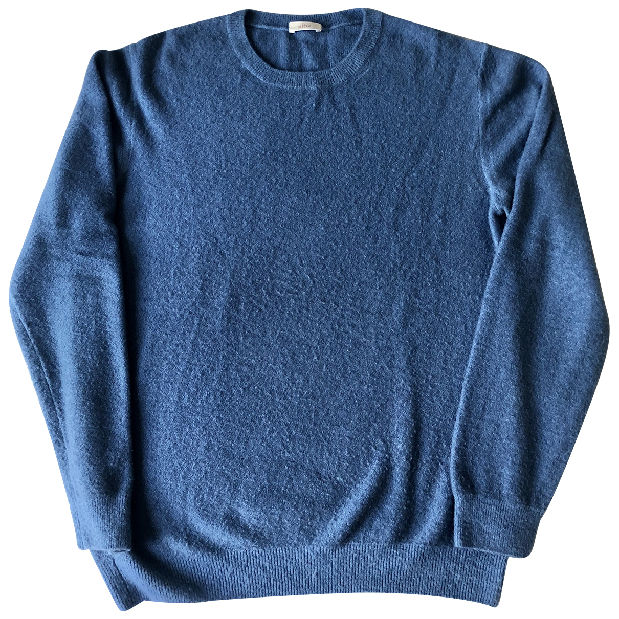 Altea \N Pullover.Westen.Sweatshirts  in  Blau Wolle
