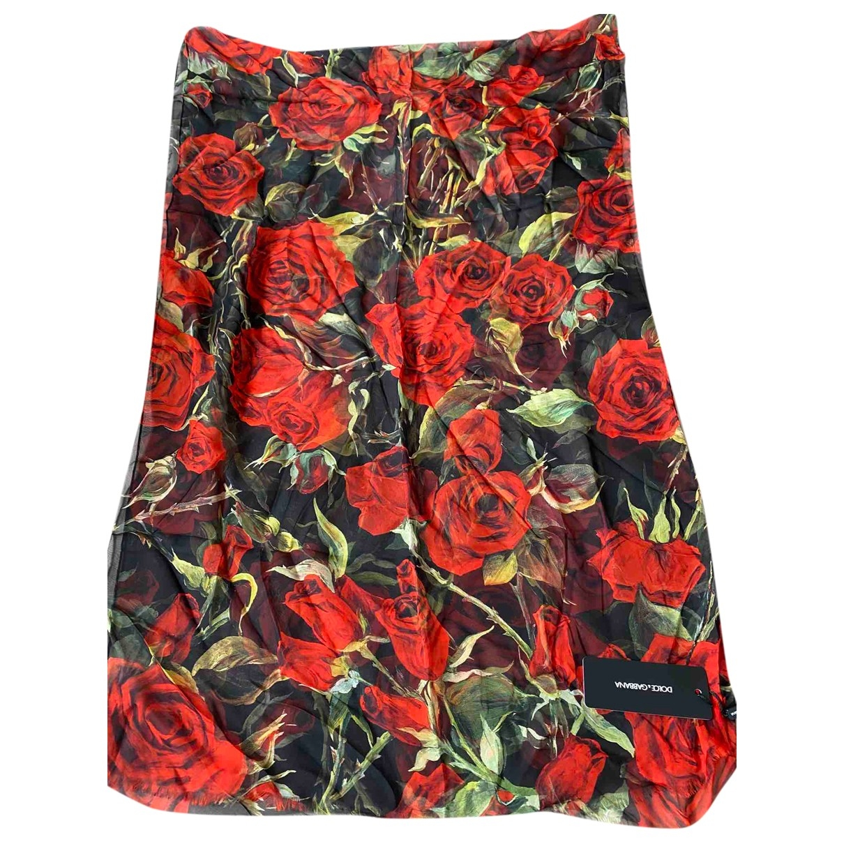 Dolce & Gabbana \N Schal in  Schwarz Seide