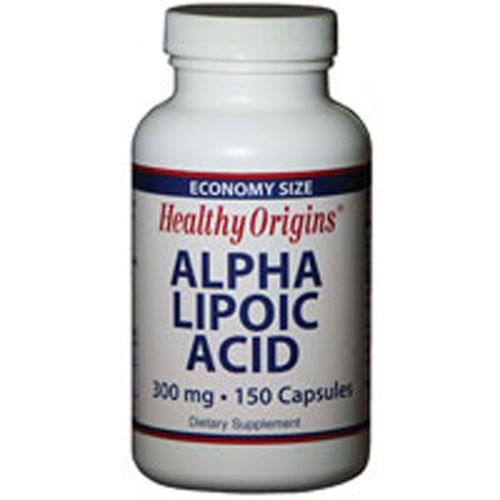 Alpha Lipoic Acid 150 Cap by Healthy Origins