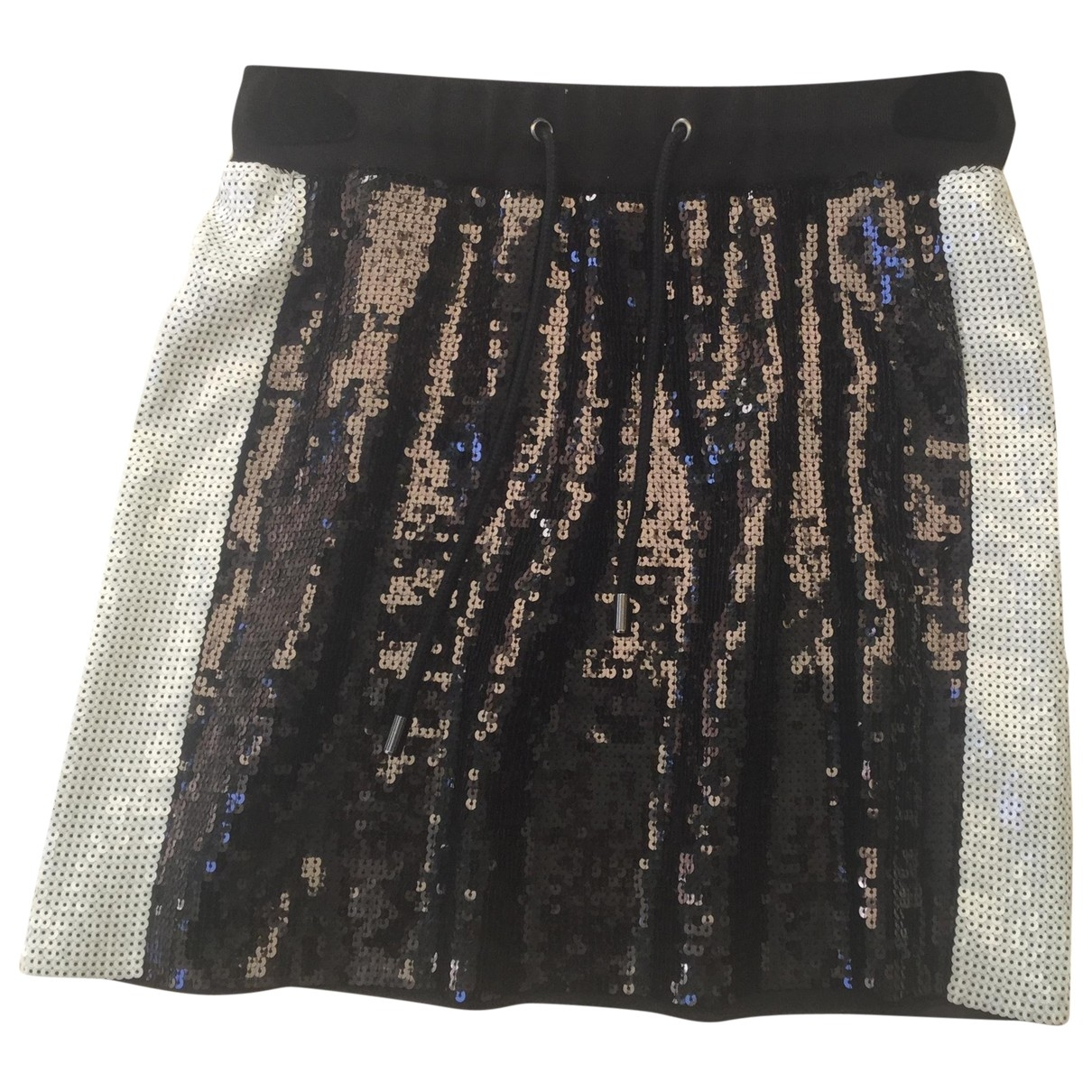 Alberta Ferretti \N Black Glitter skirt for Women 40 IT