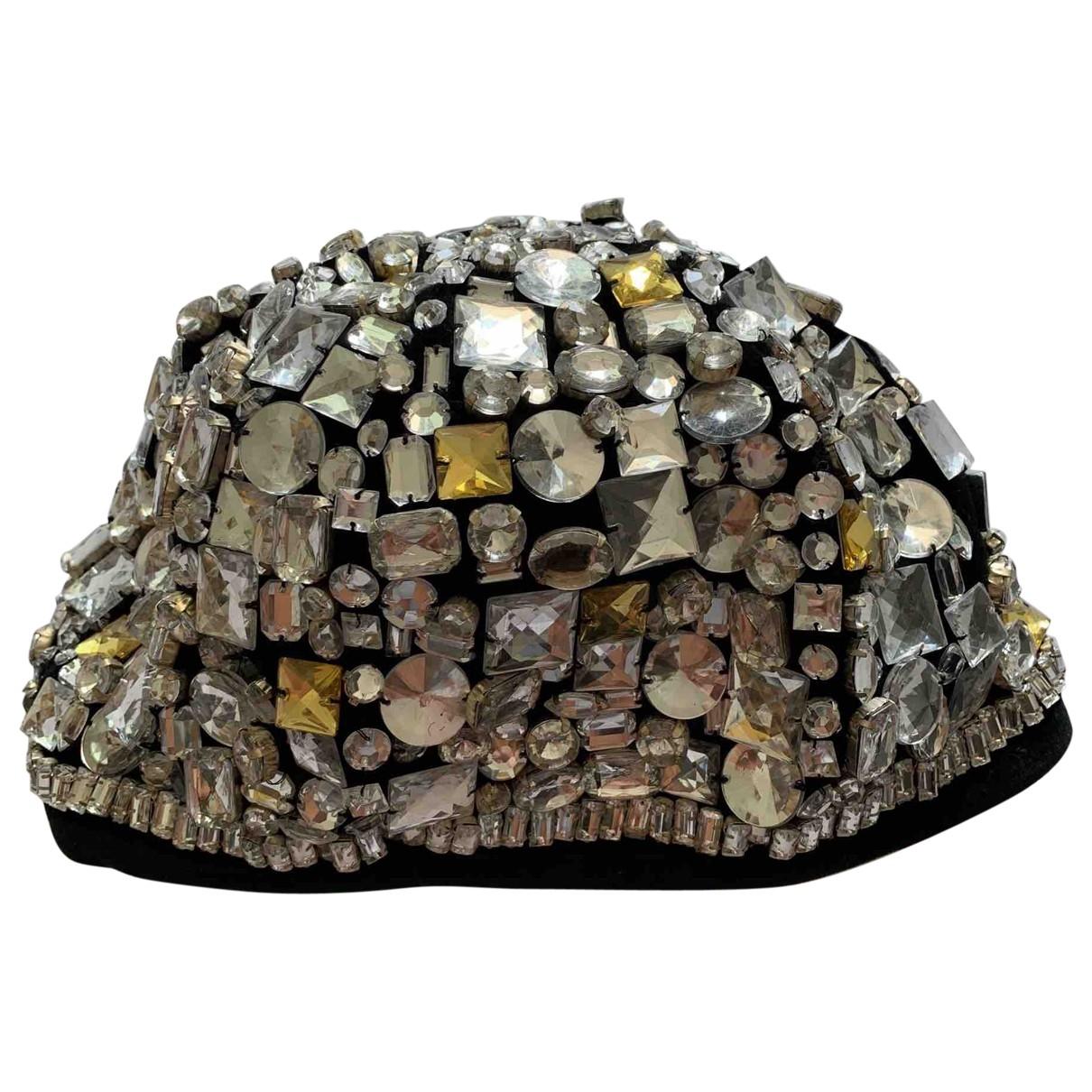 Blumarine \N Hut in  Schwarz Baumwolle