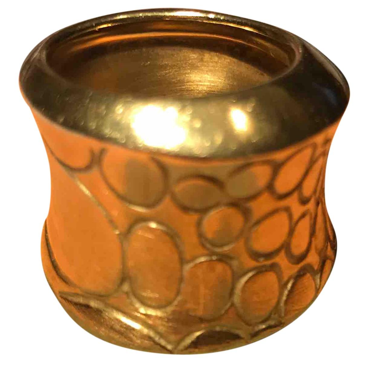 Pomellato - Bague Cocco pour femme en or jaune - dore