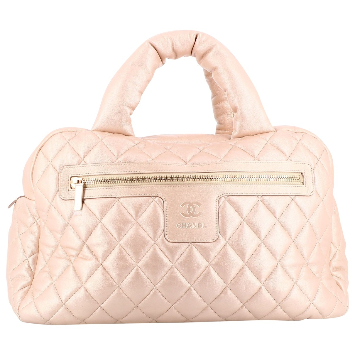 Chanel Coco Cocoon Beige Leather handbag for Women \N