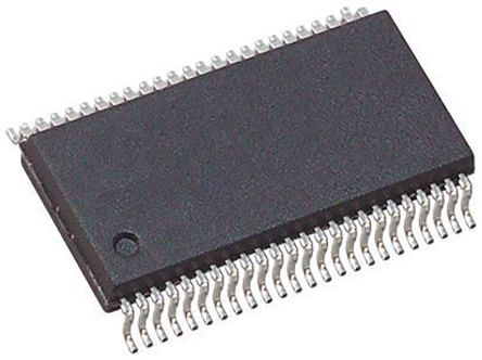 Texas Instruments 74LVCH16T245DGGR, Dual Bus Transceiver, Bus Transceiver, 16-Bit Non-Inverting LVTTL, 48-Pin TSSOP (5)