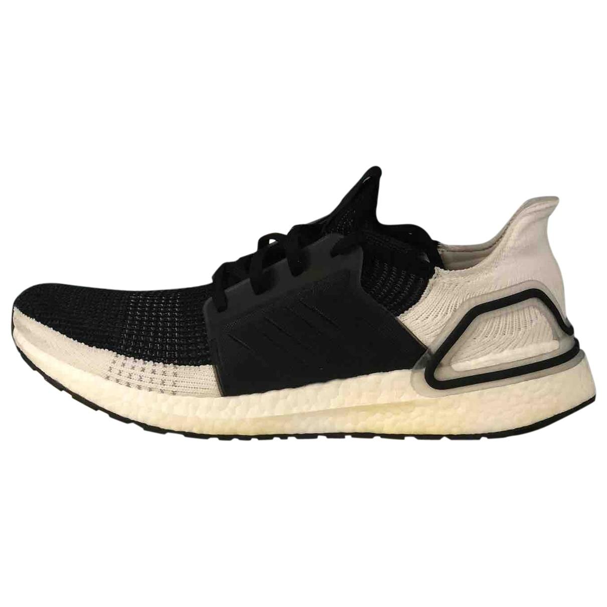 Adidas Ultraboost Sneakers in  Schwarz Leinen