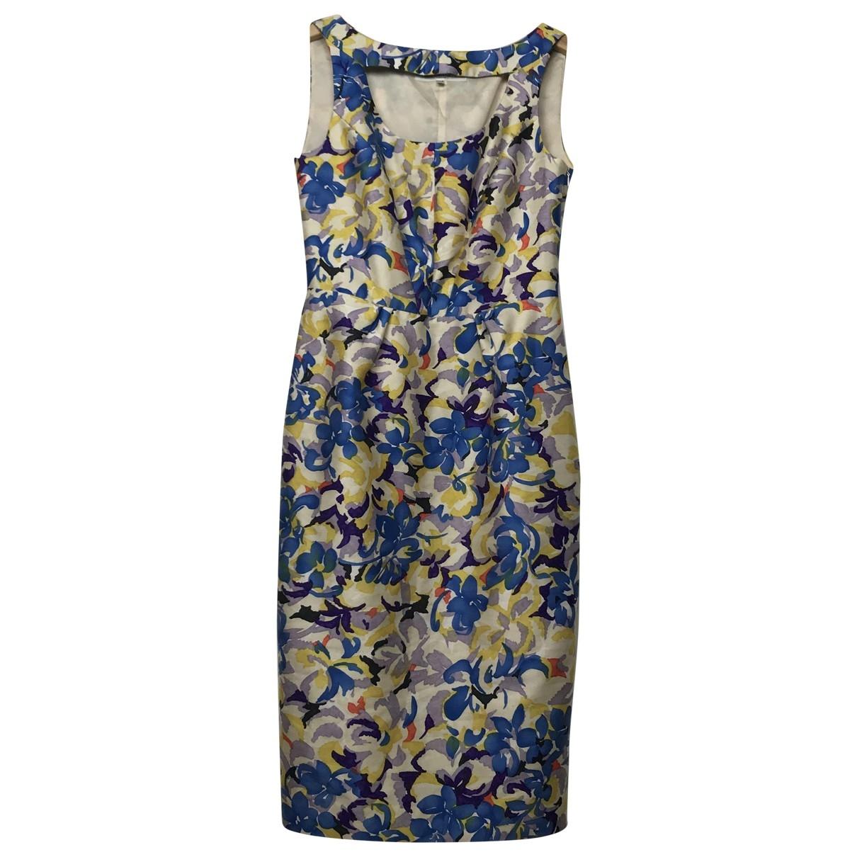 Lk Bennett \N Multicolour Silk dress for Women 6 UK