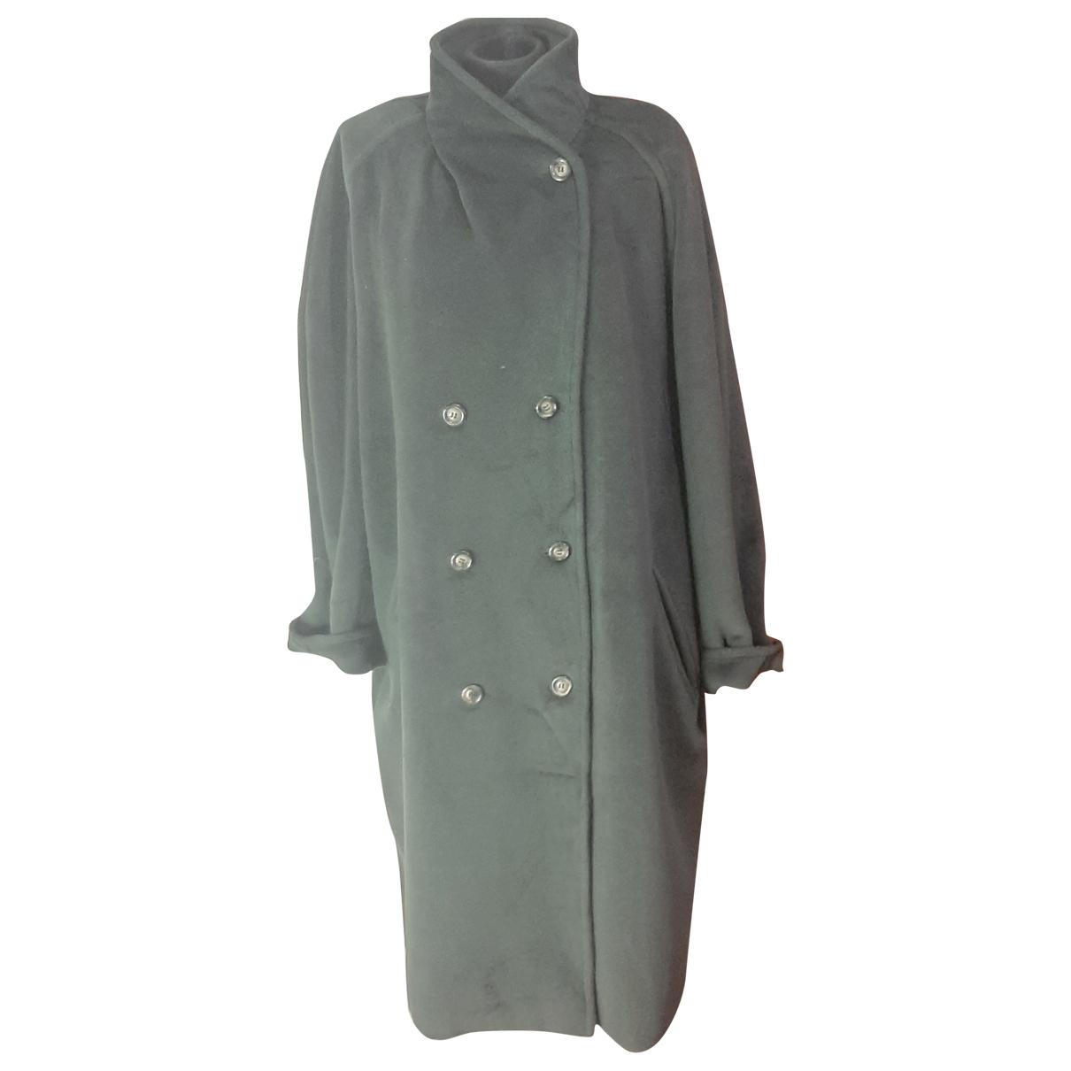 Max Mara - Manteau   pour femme en laine - vert