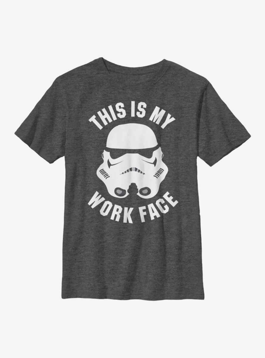 Star Wars Work Face Youth T-Shirt