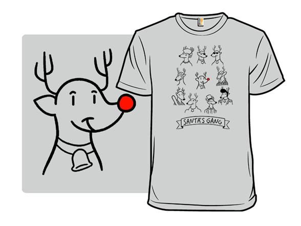 Santa's Gang T Shirt