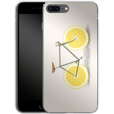 Apple iPhone 8 Plus Silikon Handyhuelle - Zest von Florent Bodart
