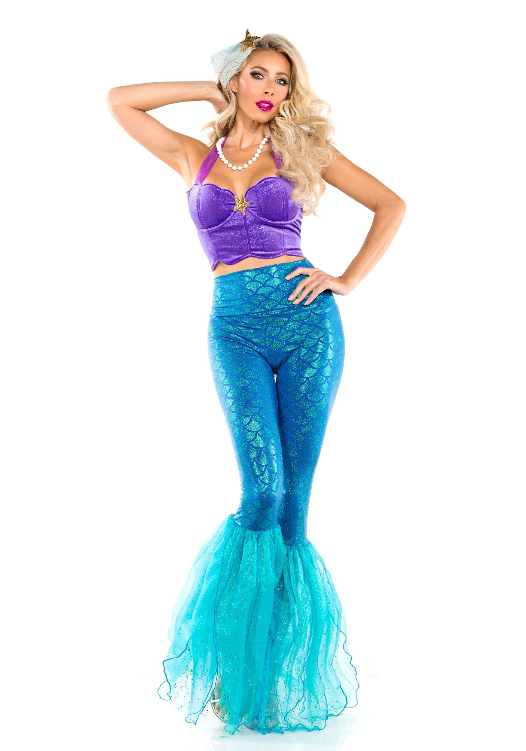 Fantasy Mermaid Costume for Women