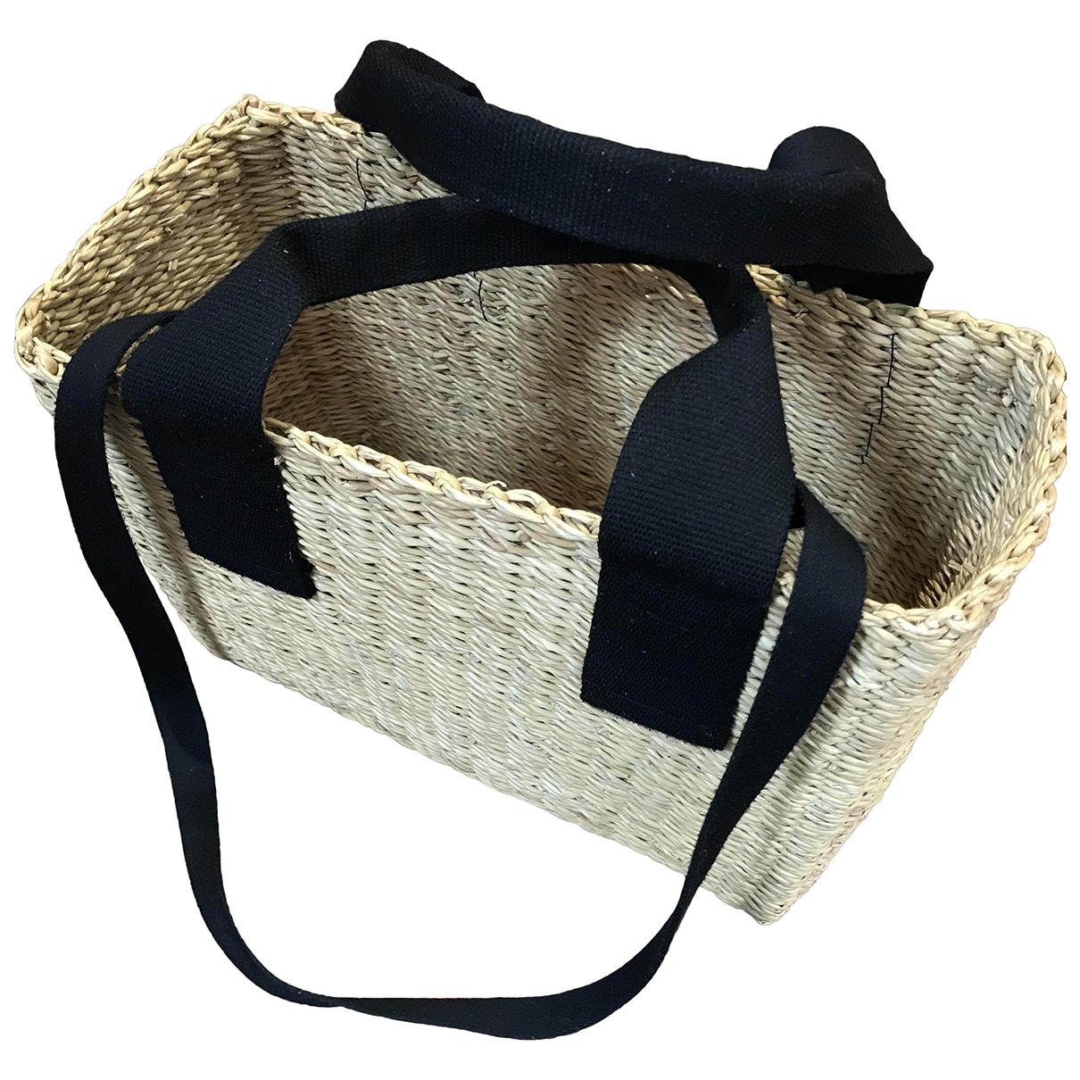 Muun \N Handtasche in Stroh