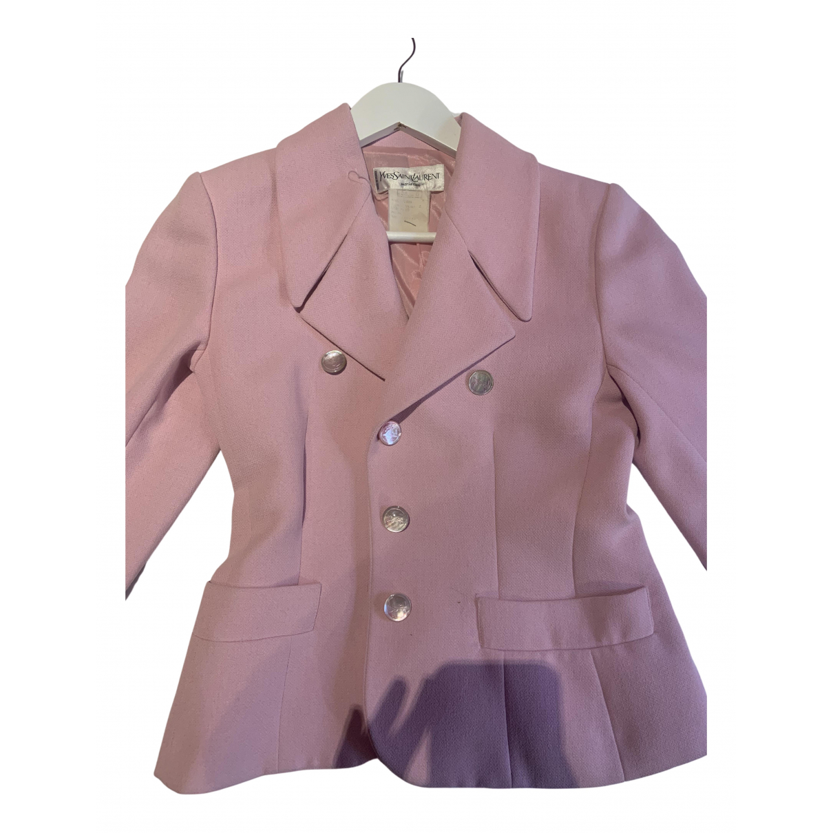 Yves Saint Laurent N Pink jacket for Women 38 FR