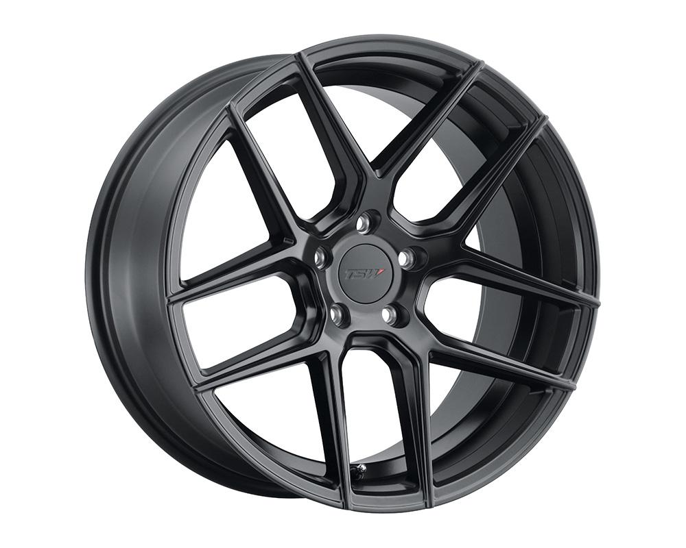 TSW Tabac Wheel 18x9.5  5x114.3 20mm Semi Gloss Black