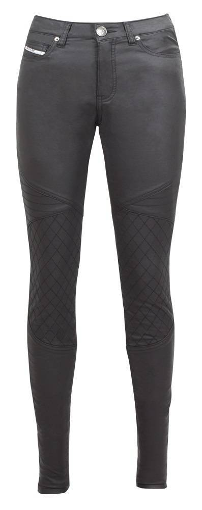 John Doe Betty Biker XTM Motorradhose Jeggings Schwarz  34/32