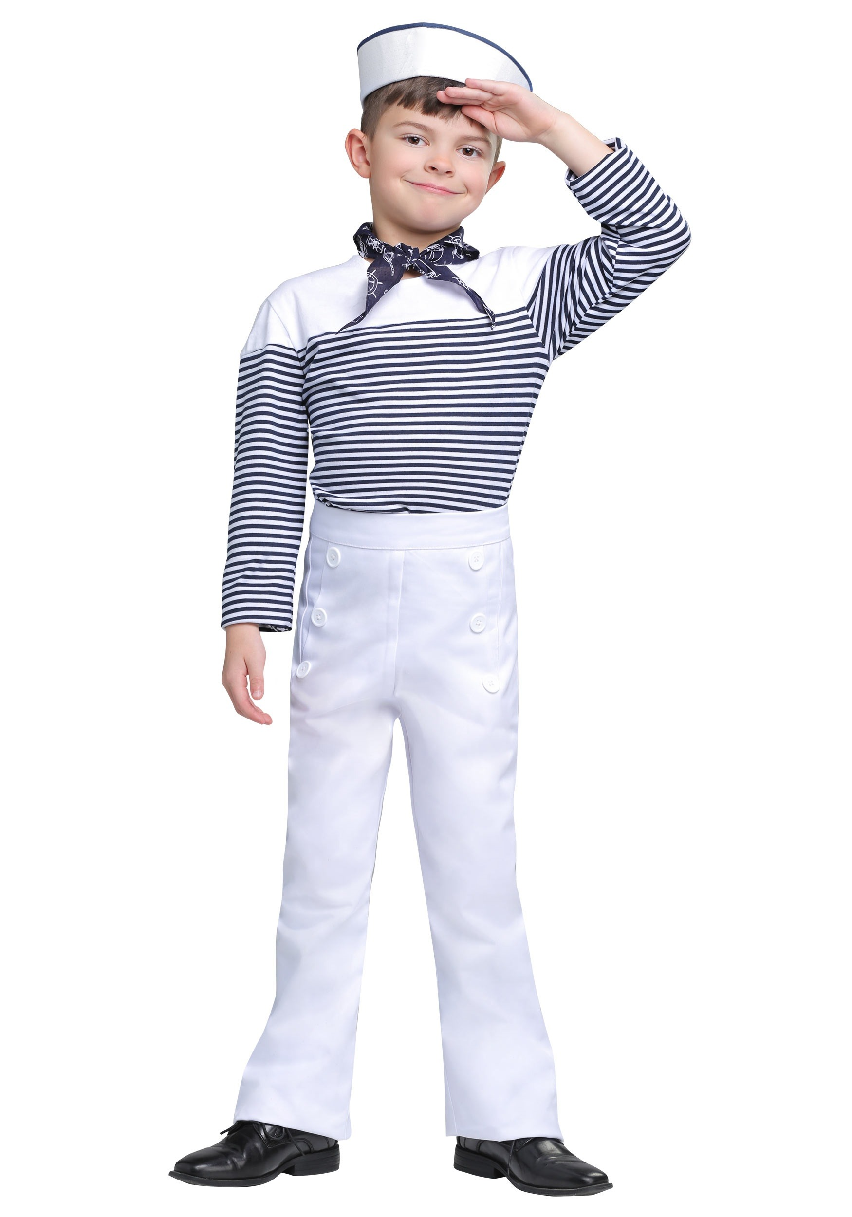 Vintage Sailor Boys Costume