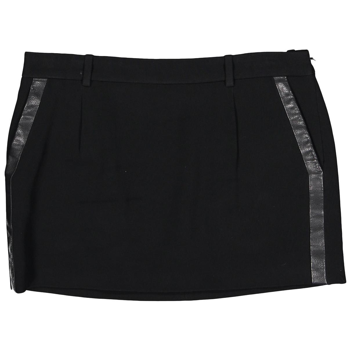 Saint Laurent \N Black skirt for Women 38 FR