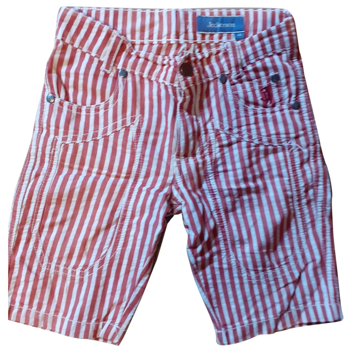 Non Signé / Unsigned \N Red Cotton Shorts for Kids 4 years - up to 102cm FR