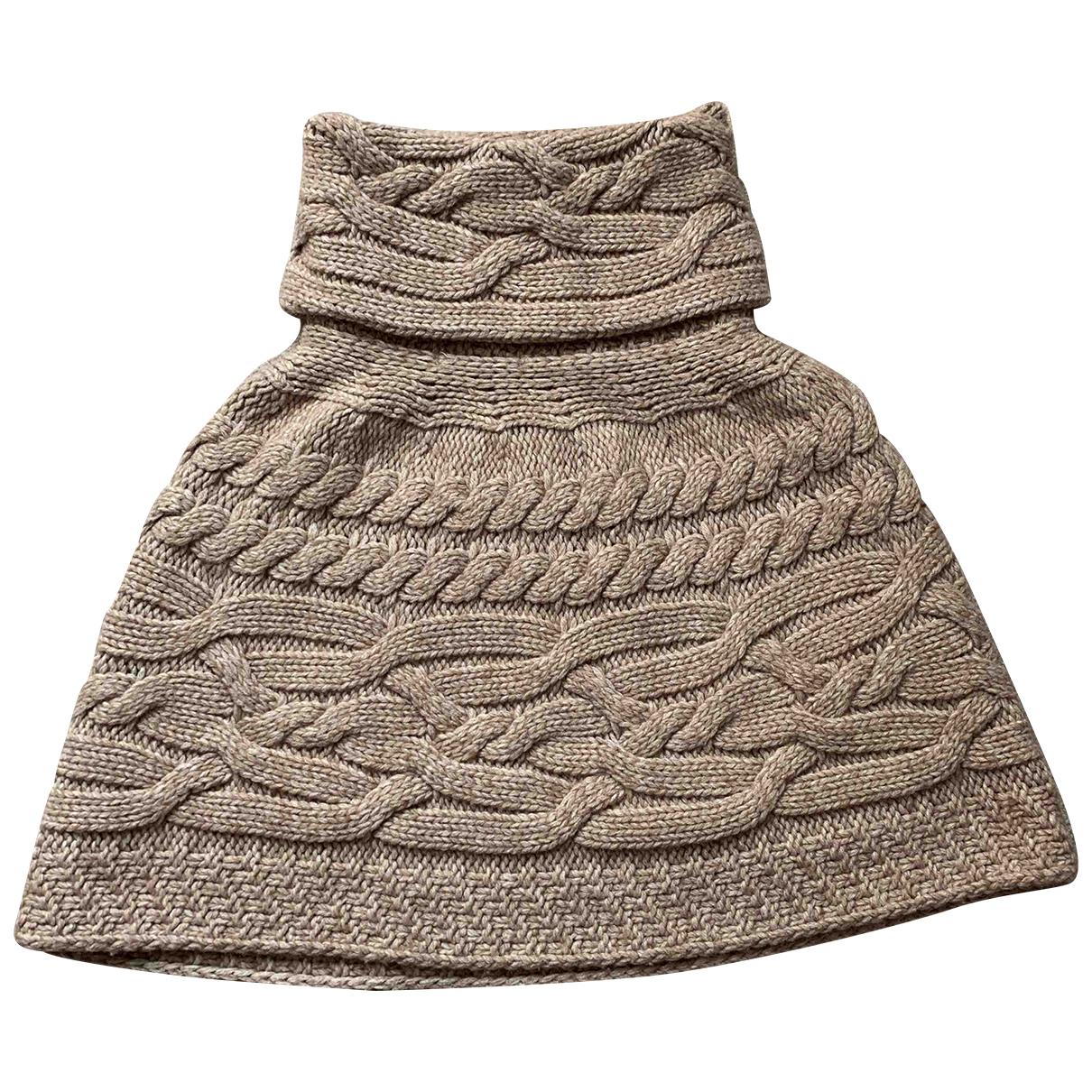 Pinko N Beige Wool scarf for Women N